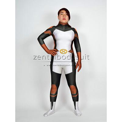 3D X-men X-23 Costume Cosplay X23 Halloween Party Zentai Suits