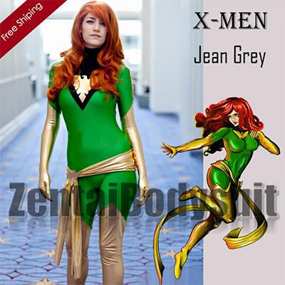 Jean Grey X-men Phoenix Superhero Costume