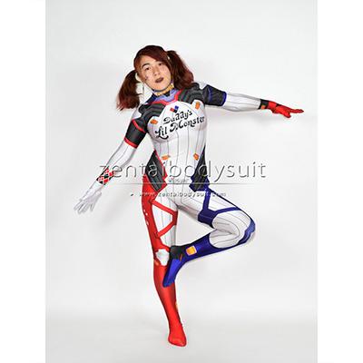 Overwatch Harley D.VA Costume D.Va Mixed Harley Skin Cosplay Suit