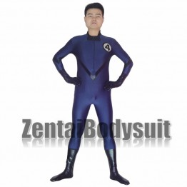 Blue And Black Fantastic Four Superhero Costume