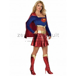 DC Comics Supergirl Shiny Metallic Costume