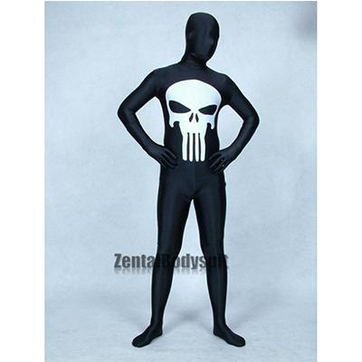 Marvel Punisher Costume Spandex Superhero Costumes