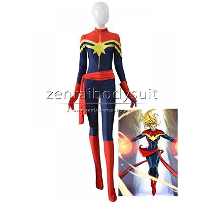 Ms Marvel Carol Danvers Female Costume