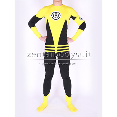 Custom Yellow Lantern Sinestro Corps Costume