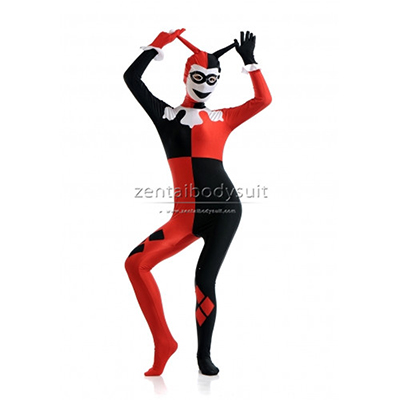 DC Comics Harley Quinn Costume Lycra Spandex Zentai Suits