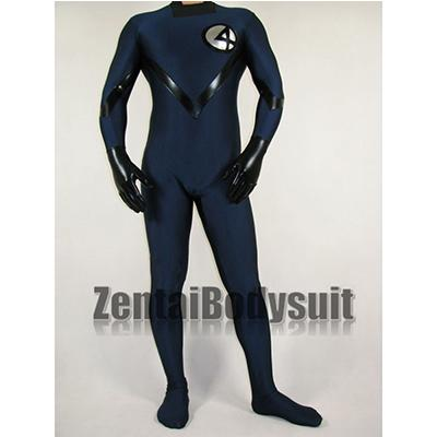 Fantastic Four Costume Human Torch Spandex Superhero Suit