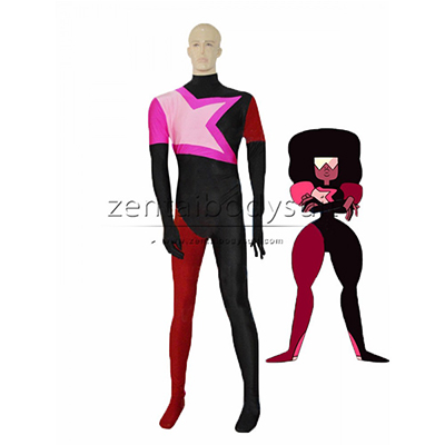 Female Garnet From Steven Universe Superhero Catsuit