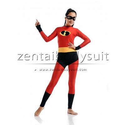 Female The Incredibles Mrs Incredible Superhero Costume