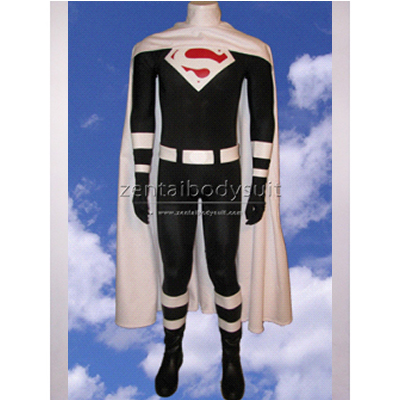 Justice Lords Superman Costume Spandex Superhero Zentai Suit