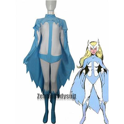 Marvel Comics Alpha Flight Lycra Spandex Snowbird Superhero Costume