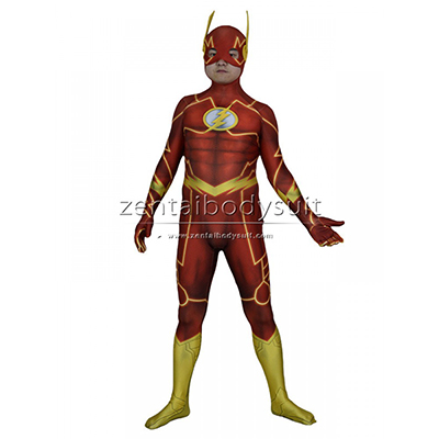 The New 52 Flash Costume 3D Print Cosplay Suits