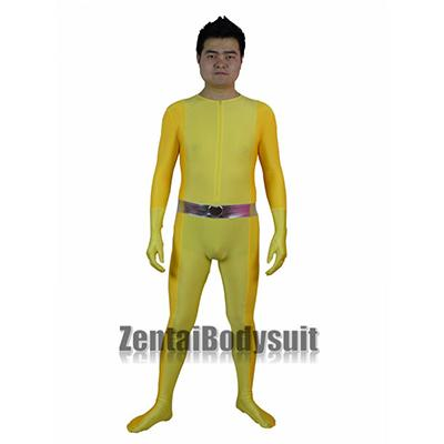 Yellow Totally Spies! Alex Spandex Superhero Costume