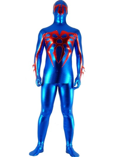 Blue Metal Spider-man 2099 Superhero Costume